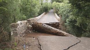 Investigation into Desertmartin partial bridge collapse