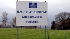 HMP Featherstone in Staffordshire