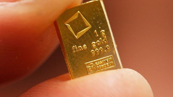 Подарок на рождение ребенка из золота и серебра