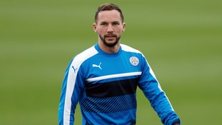 Midfielder Danny Drinkwater submits a transfer request to Leicester
