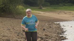 Cancer survivor preparing to take on running challenge