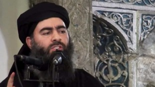 Al-Baghdadi, seen here in 2014, may still be alive