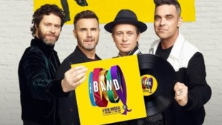 """We can't stop crying"" - Take That on new musical 'The Band'"
