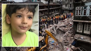 Mumbai resident Amina Sheikh's four-year-old grandson narrowly escaped being a victim of the tragic collapse.