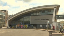 No train services will be calling at Bristol Parkway station for two weeks from 2nd September.