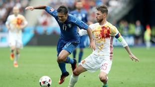 Watch Spain v Italy live on ITV4/ITV Hub