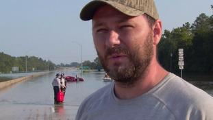 Rescue worker Luke Williams