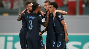 Four second-half goals including a brace from Kane seals victory for England in Malta