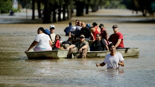 Harvey has devastated the city of Houston.