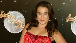 Dani Harmer and dance partner Vincent Simone are in the final four.