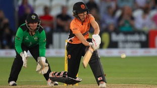 Charlotte Edwards scored 20 not out in her final innings.
