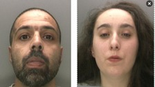 Asif Iqbal (left) and Kaylee Waller (right).