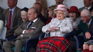 The Queen and Duke of Ediburgh