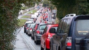 Swindon half marathon: traffic plan to be reviewed next year after drivers hit by long delays