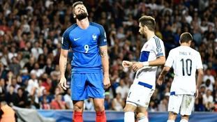 Giroud admits frustration and disappointment in France squad following draw with Luxembourg