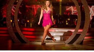 Girls Aloud singer Kimberley Walsh danced to Beyonce's Crazy In Love with dance partner Pasha Kovalev.