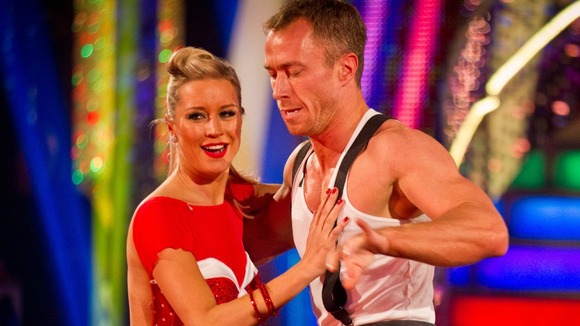 Denise Van Outen and James Jordan performed the Charleston and Flashdance&#x27;s &#x27;What a Feeling&#x27; during the final.
