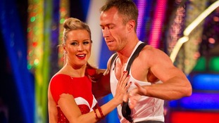 Denise Van Outen and James Jordan performed the Charleston and Flashdance's 'What a Feeling' during the final.