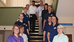 North Cumbria NHS Trust team shortlisted for national award