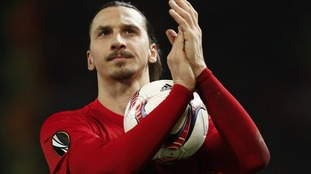 Ibrahimovic named in Manchester United Champions League squad