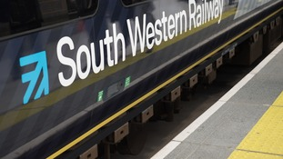 The South Western Railway livery.