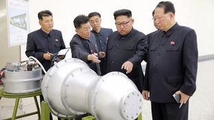 North Korea's Kim Jong-un 'begging for war', US tells UN