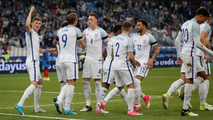 Watch England's World Cup Qualifying match against Slovakia live on ITV