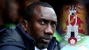 Jimmy Floyd Hasselbaink: Northampton Town appoint former Chelsea star as new manager
