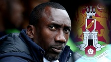 Jimmy Floyd Hasselbaink is the new Northampton Town manager.
