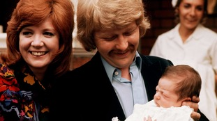 Cilla with husband
