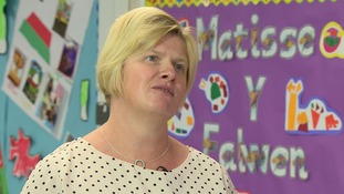 Ysgol Hamadryad primary headteacher Rhian Carbis.