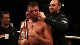 Hughie Fury's world title fight to be broadcast exclusively on YouTube