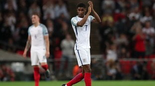 Southgate praised match-winner Marcus Rashford as England came from behind to beat Slovakia on Monday night
