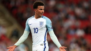 Dele Alli could face disciplinary action over middle-finger gesture at Wembley