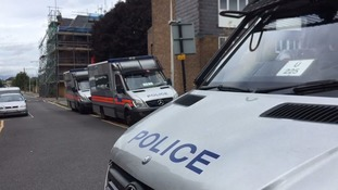 The victims, 14 and 17, were shot near Forest Gate station in Newham.