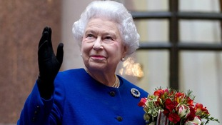 The The Queen is currently suffering from a cold