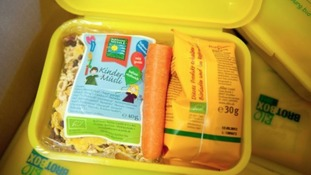 A child's lunchbox should include starchy carbohydrates, fruit and veg
