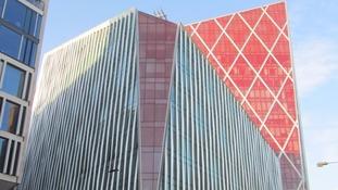 The Nova Victoria building has 'won' the Carbuncle Cup.