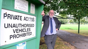 Councillor Trevor Johnson set up a fund after the council could not afford the work