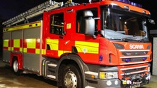 A fire at a recycling depot in Norfolk has been put out.
