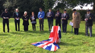 WW1 soldier given graveside 98 years after death