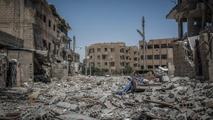 Syria has been heavily damaged due to fighting.