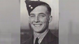 George Johnny Johnson after joining the RAF
