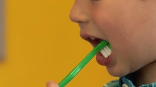 Children in Leicester are brushing their teeth once a day when at nursery.