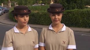 Lauren and Abby Barnes