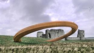 No iron ring sculpture for Flint Castle