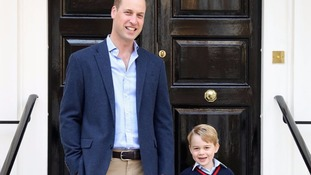 Duchess of Cambridge too ill to take Prince George on first school run