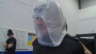 Every police officer to carry spit hoods in Kent