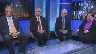 The guests on Anglia Late Edition were Peter Bone MP (Con), Daniel Zeichner MP (Lab), Norman Lamb MP (Lib Dem) and Margot Parker MEP (UKIP)