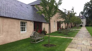 Holiday cottages have been built to be rented out.
